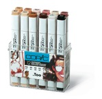 Set COPIC MARKER - 12 couleurs Portrait