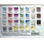 GOLDEN Gels mural banner - large format
