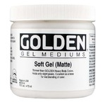 GOLDEN 473 ml Soft Gel Matte