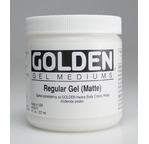 GOLDEN 473 ml Regular Gel Matte