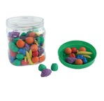 Preschool Sorting - Set of 108 Foam Animals 1 cm
