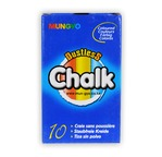 Box of 10 chalks with different assorted colours
