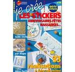 Livre JE CREE Stickers anniv PN N°54  (TVA 5,5%)