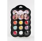 GRIM TOUT - Face Paint pallette: 4 colours - SKELETON & WITCH
