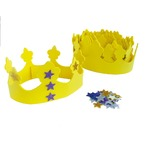 GRIM TOUT Kit of 10 EVA Foam Crowns