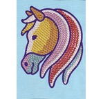 0904/Sequin MAGIC - Cheval