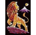 ART SEQUIN - Roi Lion