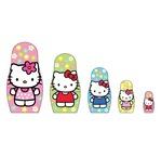 MATRYOSHKA Hello Kitty - Poupées à Peindre