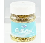 GRAND POT Paillettes  150 gr  OR salière