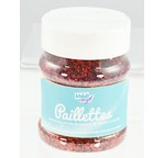 GRAND POT Paillettes  150 gr  ROUGE salière