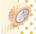 MT 1P Motif pois / dot apricot