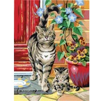 Peinture par N° Junior DUO - Lot de 2 CHATS