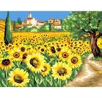 Peinture N° - Village du Lubéron