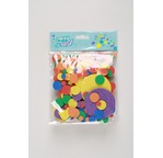 Pack 200 Assorted colours foam heart shapes