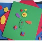 20 foam sheets 30x40 cm - Assorted colours
