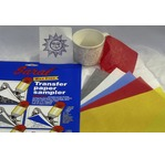 Transfer paper - 5 sheets assorted