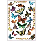 Transfert déco DIAM'S Les Papillons 15X21