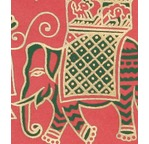 PAPERTREE DS 90g DECORA ELEPHANT Rouge
