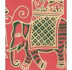Papertree 58x91 DECORA Fiori Red/Cinnamon