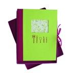 PAPERTREE MASALA Livre de recette 20x26 Vert
