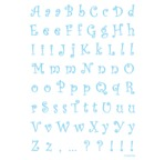 Transfert adhésif DIAM'S-Alphabet Duchesse