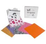 Boîte 100 feuilles origami 15x15 assort + 10 fiches