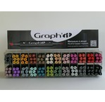 Mural display contains 24 colours x 6 GRAPH'IT markers