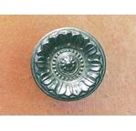 Poignée bouton AVIGNON - argent mat+1 vis- 39mm
