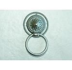 Poignée bouton TOLEDO -  argent mat + 1 vis - 37mm