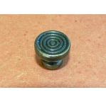 4 poignées boutons ATHENA-bronze antik+4vis-16mm