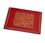 PAPERTREE TAJ Enveloppe 18x15 CD Rouge