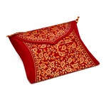 PAPERTREE TAJ Pillow Pouch Curry - Set of 2