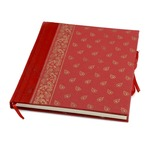 PAPERTREE SERENITY Livre d'or 20*26 - 100p Rouge