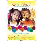 GRIM TOUT PLV Poster de maquillage (A2)