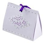 PAPERTREE TAJ Choco box - Lilas - 2 pièces