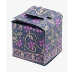 "Papertree SITARA Gift Box ""Cube"" - 7x7x7cm - Lagoon"