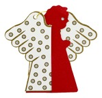 Papertree ANGEL Red/White - set of 5