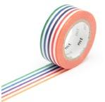MT KIDS Motif Lignes Multicolores /colorful border
