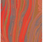 PAPERTREE 50*70 110G MARBRE GOLD Corail