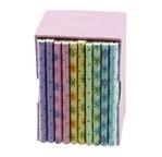 **PN* PAPERTREE FLEURETTE Mini Carnets 7x10 cm-Prés. de 10 pièces-ass