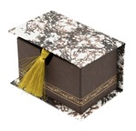 PAPERTREE ELEONORE marron Coffret Cdv 10,5*7