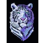 ART SEQUIN - Tigre des Neiges