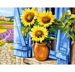 Peinture par N° - Soleil de Provence