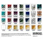 GOLDEN Gels rigid A4 colour chart