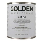 GOLDEN 946 ml MSA (Mineral Spirit Acrylic) GEL