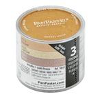 PANPASTEL, Set de 3 couleurs Les Métalliques I - Or/Vieil Or/Bronze