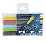 GRAPH'IT SHAKE Set de 6 Marqueurs Extra Fins - Basic