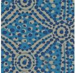 PAPERTREE 50*70 100g MARIMBA Bleu/Taupe/ Indigo