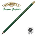 Crayon Graphite Kimberly 3B - embout métal