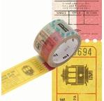 MT PRÉDÉCOUPÉ Motif tickets - 2cm x 3m
